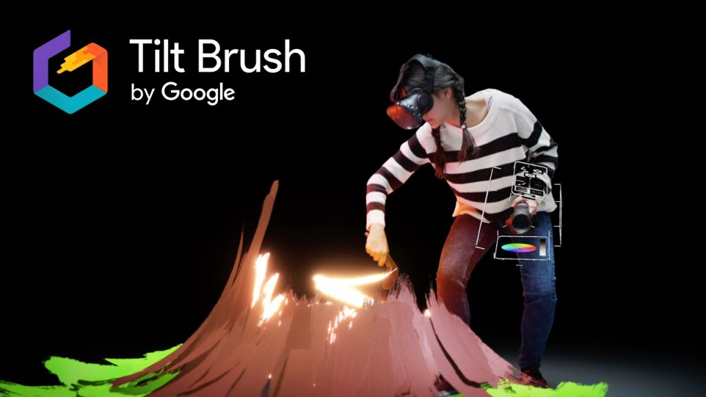 HTC VIVE et GOOGLE TILT BRUSH