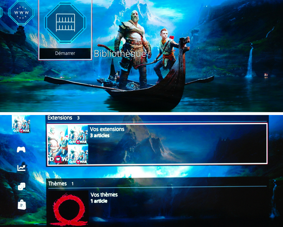DLC GOD OF WAR PS4 Guadeloupe Actu