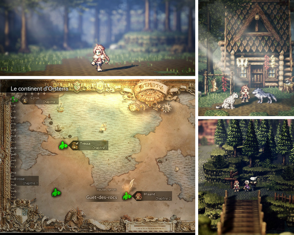 At the beginning Octopath traveler Guadeloupe Actu