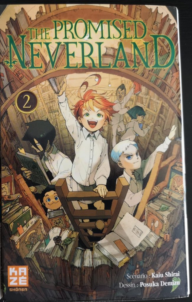 Couverture tome 2 de The Promised Neverland Guadeloupe Actu